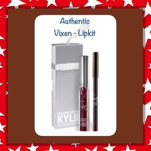 Kylie Cosmetics Other - SALE💜NIB⭐️Auth.🔺Vixen Lipkit,🔺KYLIE Ltd