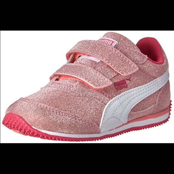 8bb46bdf9fc5 Toddler Glitter Pumas. M 584958c7ea3f3646d001ff67. Other Shoes you may  like. Puma Heart Patent Sneaker ...
