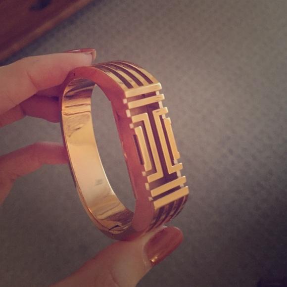 c1de72ecb3c Tory Burch Fitbit flex rose gold bracelet. M 584959784e8d17ad0601feb4