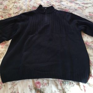 Other - Italian wool sweater with chest ribbing