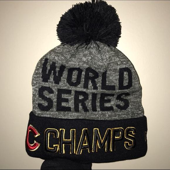 New Era Chicago Cubs World Series Knit Hat 🐻 65632283faa