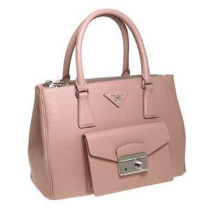 Prada Galleria Small Tote Bag in Cammeo