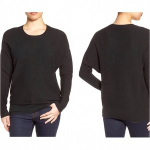 Nordstrom Sweaters - 💲⬇️Halogen textured ribbed wool blend sweater