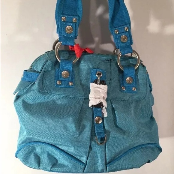 Ginaamp; Lucy George Poppy Blue Purse Blossom Nwt rCQthdxs