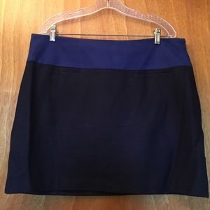 Gap Wool Blend Mini Skirt
