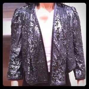 Karen Millen nwt sequin blazer size 2/4