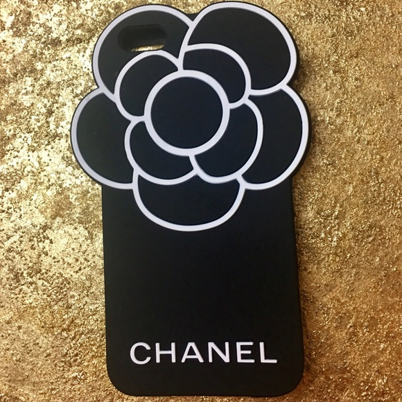 best loved dcb1a f6563 Chanel camellia flower case for iPhone 6s Plus