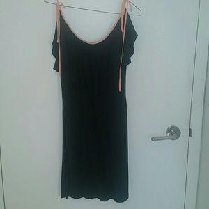 AKA New York Dresses & Skirts - AKA new york black silk slip dress