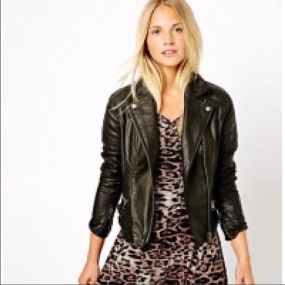 Asos Jackets Coats New Look Real Leather Jacket From Poshmark