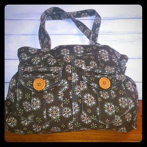 Anchor Blue Handbags - Anchor Blue corduroy bag