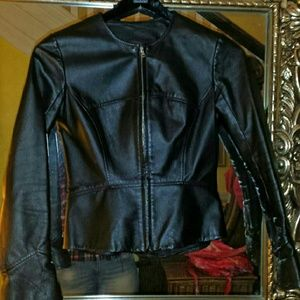 LEATHER  JACKET SLIM FIT, CLASSY STYLE
