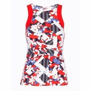 Peter Pilotto for Target Tops - *NWOT* Peter Pilotto for Target Floral Peplum Top