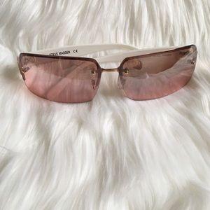 Pink/White Steve Madden Sunglasses