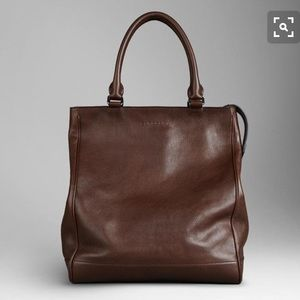 Burberry Slane Leather Tote