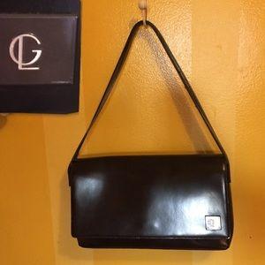 Guy Laroche Paris vintage black bag