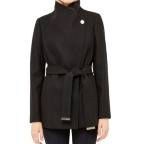 fee4d32ab37656 Ted Baker Elethea Short Belted Coat. M 5849b66c99086a3365030d3c. Other  Jackets   Coats ...