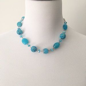 Charming Charlie Jewelry - Charming Charlie Necklace Set in Aqua