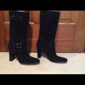CLEARANCE Calvin Klein suede boots 7.5