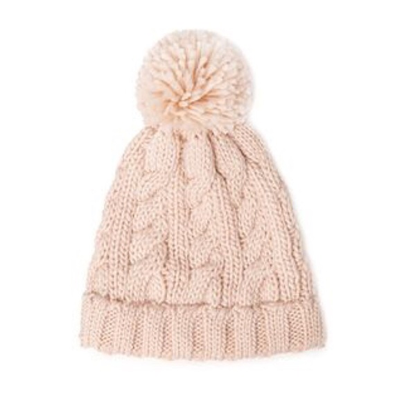 Forever 21 Accessories - Forever 21 soft pink knit beanie! c00280d19f5
