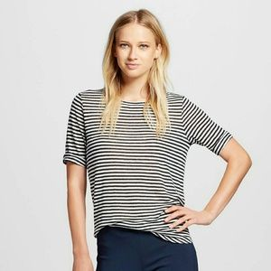 Who What Wear  Tops - WHO WHAT WEAR x TARGET Elbow Linen Tee