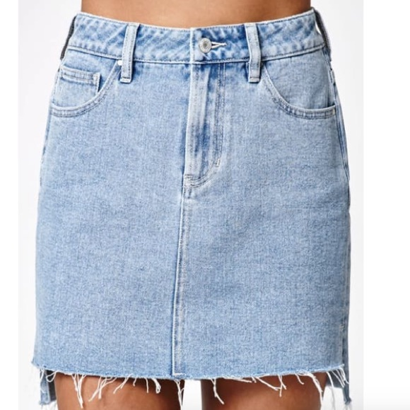 57 pacsun dresses skirts pacsun hi low denim