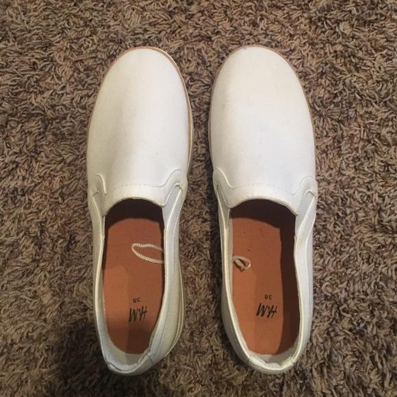 H\u0026M Shoes | Hm Slip On Sneakers | Poshmark