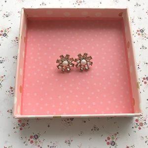 Anthropologie Jewelry - Blush Anthropologie earrings!