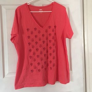 Old Navy Vneck relaxed tee