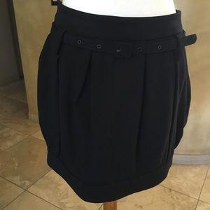 Patrizia Pepe Dresses & Skirts - Beautiful black balloon mini skirt
