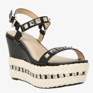 torrid Shoes - 🆕 Torrid Studded Ankle Strap Wedges Wide Width