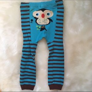 Other - Owl Striped Toddler Leggings