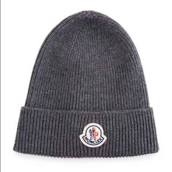 7320157b7 New MONCLER beanie skull wool HAT w/dust bag.ITALY NWT