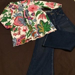 Peek Other - peek Tunic top & Crazy 8 Bootcut Jeans Outfit