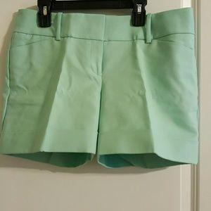 Drew fit mint shorts