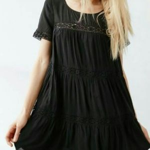 Black urban outifitters dress