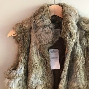 🎉HOST PICK x2🎉🎀NEW🎀Michael Kors Fur Vest