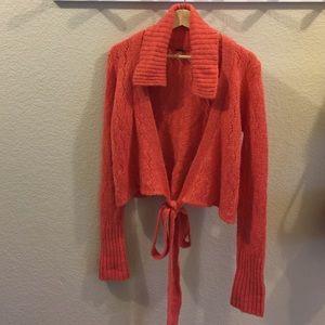 Free People Crop Cardigan Sweater