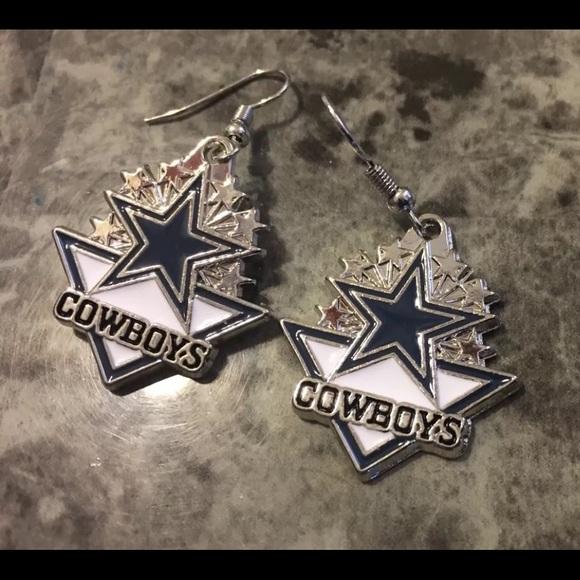 f352ed4aa3be03 Dallas cowboys earrings costume jewelry NIP