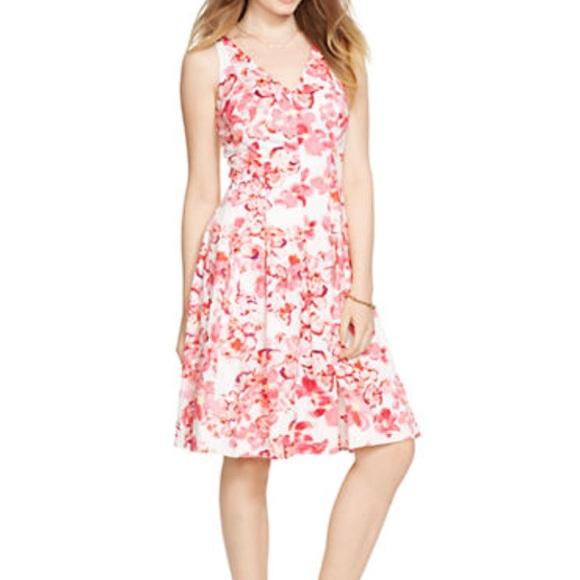 Lauren Ralph Lauren Dresses | Ralph Lauren Cherry Blossom Dress ...