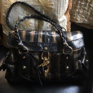 Francesco Biasia Handbags - FRANCESCO BIASIA Leather Satchel 👜 Handbag