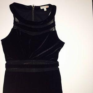 Gianni Bini Dresses & Skirts - Gianni Bini Black Velvet Cocktail Dress