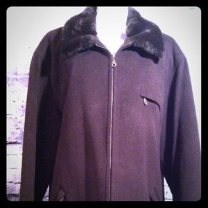 Bromley Collection Jackets & Blazers - Bromley Collection Brown Wool Jacket