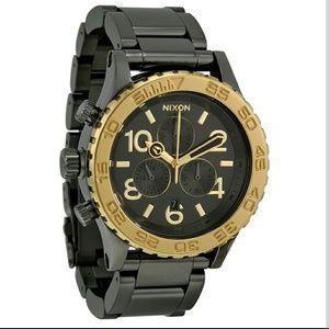 nixon Other - NWT Nixon 42-20 Gunmetal Chronograph Men's watch