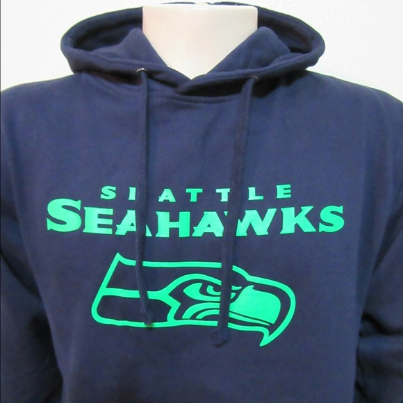 NWT Seattle Seahawks Navy Hoodie. NWT. AMS 105f50aac