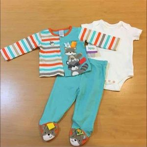 Taggies Other - Taggies 3-piece Unisex Outfit