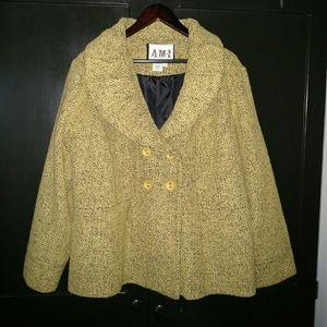 Ami Jackets & Blazers - AMI Tweed Coat