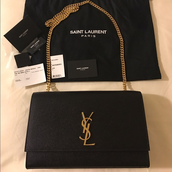 94a6499866d Yves Saint Laurent Bags   Nwt Ysl Monogram Large Kate Classic Chain ...