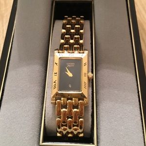 Citizen Jewelry - CITIZEN GOLD TONE WATCH