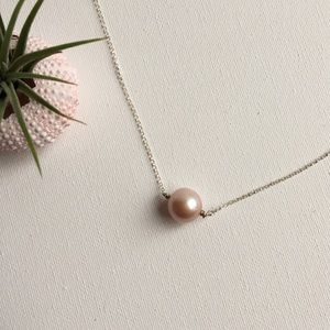 Freshwater Edison Pearl & Sterling Silver Necklace