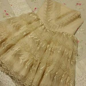 Betsey Johnson Dresses & Skirts - Betsey Johnson gold dress